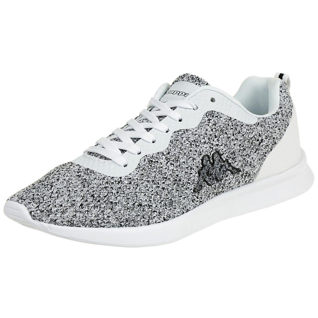 7f4cc8a74c625e Kappa Hover Damen Sneaker Turnschuhe Schuhe weiss schwarz 37 EU von Kappa