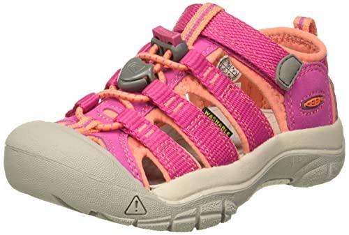 Keen Unisex-Kinder Newport H2 Trekking-& Wandersandalen,Pink (Very Berry/Fusion Coral),37 EU
