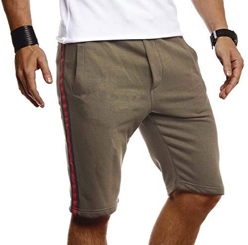 Leif Nelson Herren Sommer Kurze Jeans Cargo Shorts Jogger Kurze Hose Basic 3//4 Hose 5-Pocket Joggingshose Freizeithose Bermuda Sporthose Slim Fit LN8205