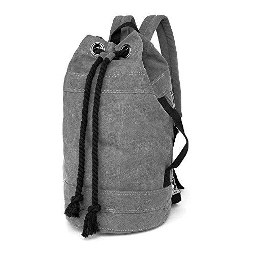 113ffd48f88e3 LOSMILE Rucksäcke Damen Herren Daypacks Seesack Leinwand Rucksack Canvas  Reisetaschen Umhängetasche Weekender Schultertaschen. von LOSMILE