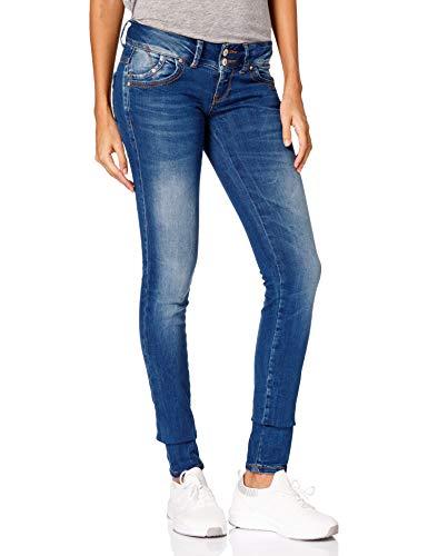 5cc783c3c1 LTB Damen Jeans Molly Heal Wash Super Slim Skinny 5065-50356, Größe:W24