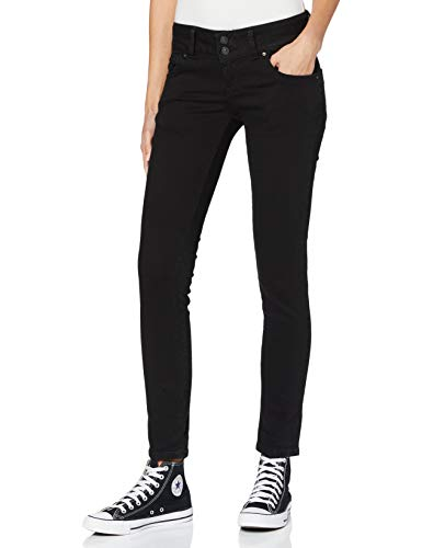 LTB Jeans Damen Molly Jeans, Black To Black Wash 4796, 30W / 30L von LTB Jeans