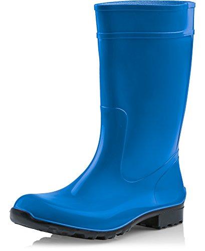 Damen Ladeheid Blau 967 Schwarz LA 42 EU Gummistiefel 1qxq6dz