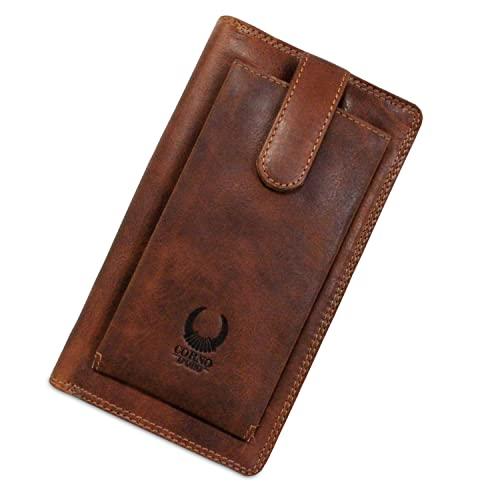 e3102d1f8ebef XXL Geldbörse aus Leder I Reisebrieftasche für Damen und Herren I Travel  Wallet für Reiseunterlagen I