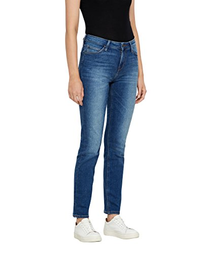 Lee Damen Elly' Jeans, Blau (Blue Drop Em), 33L/27W von Lee