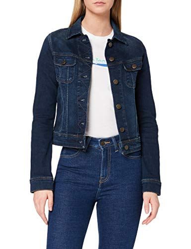Lee Damen Jeansjacke Slim Rider, Blau (Mean Streaks Kims), Small von Lee