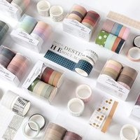 Set: Plain / Printed Masking Tape von Locasa