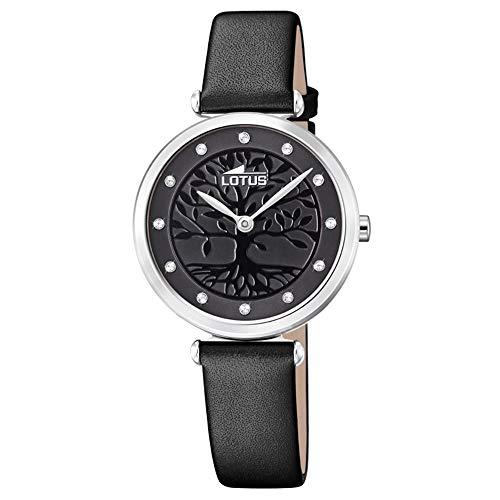 88a7397b2048 Lotus Damen Analog Quarz Uhr mit Leder Armband 18706 3 von Lotus