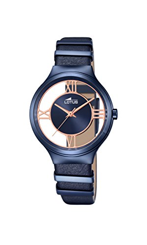 Lotus Damen-Armbanduhr Analog Quarz Leder 18339/1 von Lotus