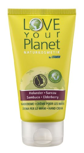 Love your Planet Handcreme Holunder 75 ml, 1er Pack (1 x 75 ml) von Love Your Planet HolunderHandcr75ml