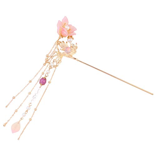 bunte schmuck Nette Haarnadel Flower Barrettes Haarschnitt rosa perle stirnband