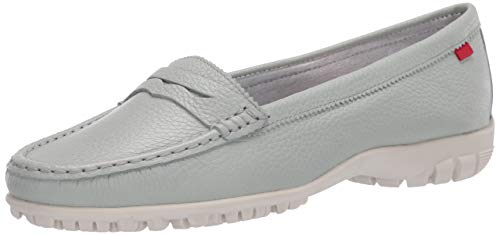 MARC JOSEPH NEW YORK Damen Leder Made in Brazil Lightweight Union Golf Performance Schuh, Grn (Mint Trommelkörnchen), 39 EU von MARC JOSEPH NEW YORK