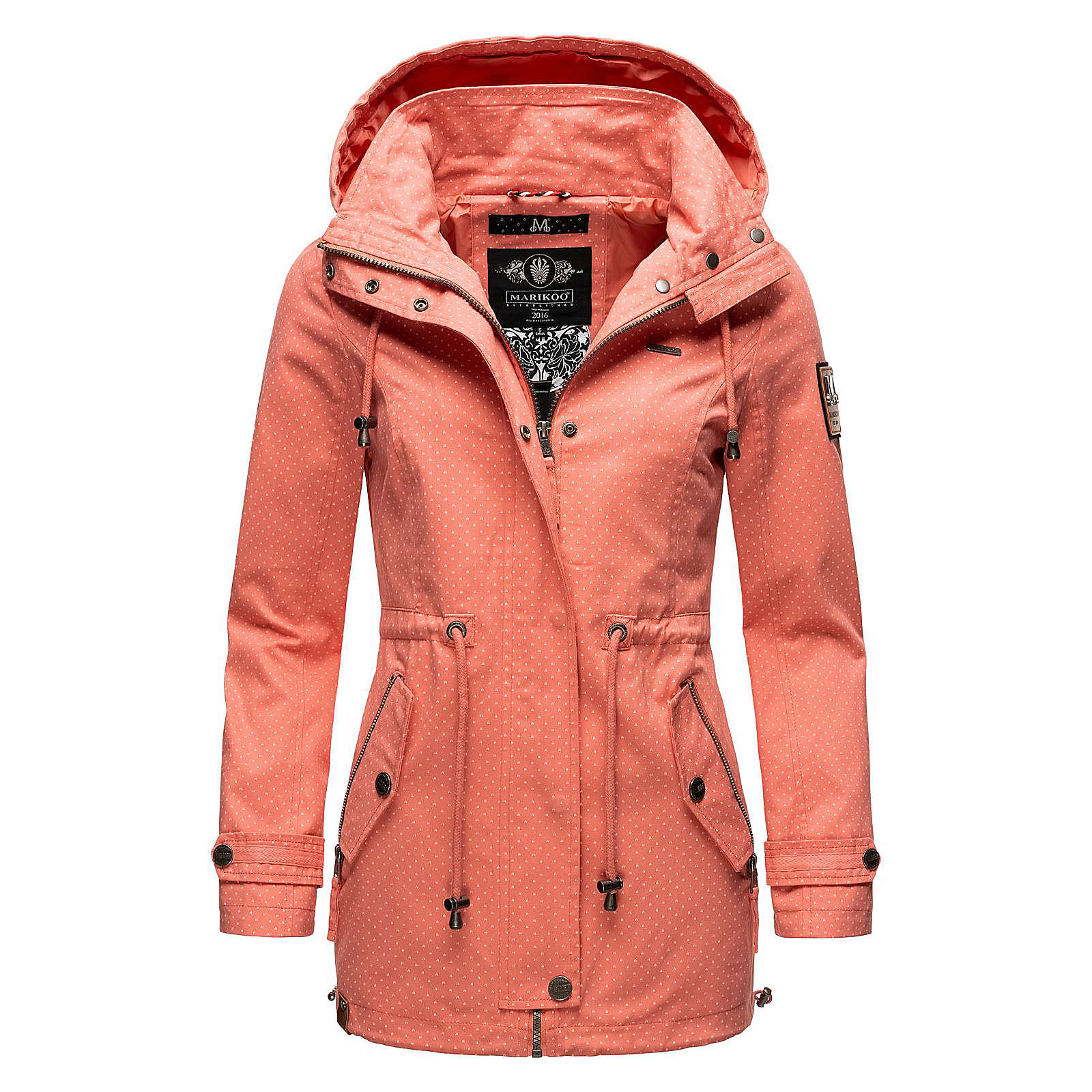 MARIKOO Outdoorjacke Nyokoo Übergangsjacken orange Damen Gr. 34 von MARIKOO