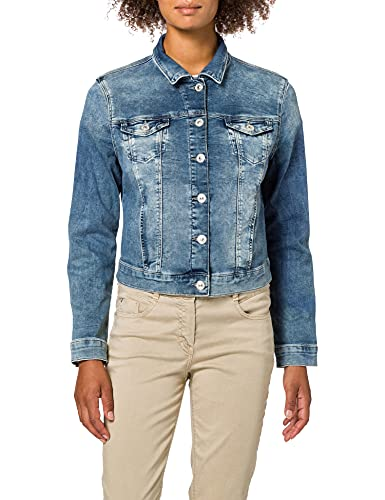 Mavi Damen Charlize Jeansjacke, Blau (True Blue Sporty 22585), Medium von Mavi