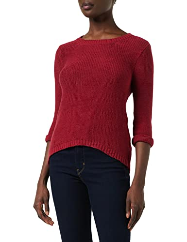 Mavi Damen Long Sleeve Sweater Sweatshirt, Rio red, L von Mavi