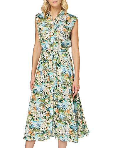 Mavi Damen Sleeveless Dress Lässiges Kleid, Lichen Hawaii Printed, S von Mavi