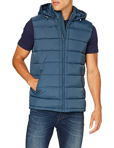 Mavi Herren Hooded Vest Jacke, Midnight Navy, L von Mavi