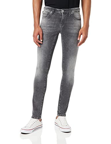 Mavi Herren Skinny Jeans James Grau (Dark Grey Ultra Move 27591) W32/L32 von Mavi