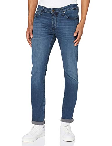 Mavi Herren YVES Jeans, Ink Brushed Ultra Move, 30W / 34L von Mavi