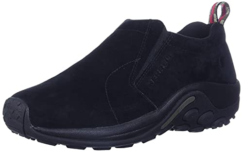 Merrell Herren Jungle Moc Mokassin, Schwarz (Midnight), 43,5 EU