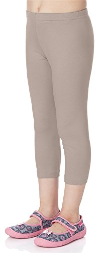 Merry Style Mädchen Leggings 3/4 MS10-131 (Caffe Latte, 134) von Merry Style