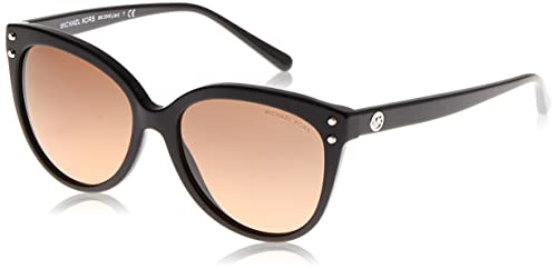 Michael Kors Damen Sonnenbrille Sweet Escape 11406G 0, Matte Black/Gunmetalmirror, 58