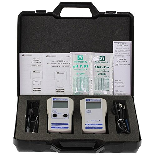 pH und EC-Messer-Kit Milwaukee Koffer von Milwaukee