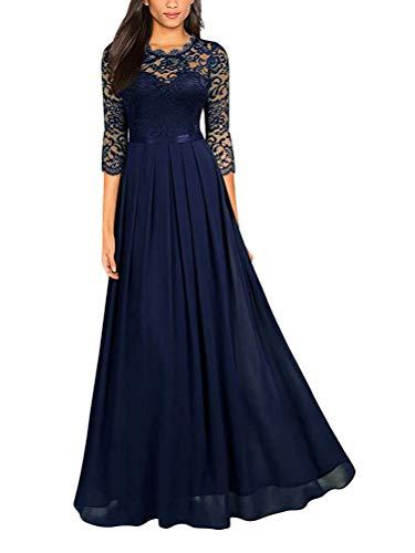 Abendkleider In Blau Fur Frauen Damenmode In Blau Bei Fashn De