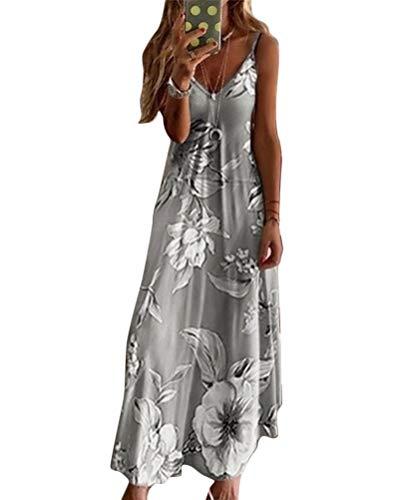 Sommerkleider Von Minetom In Grau Fur Damen