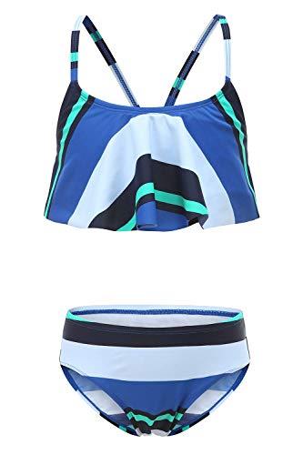 SOMESUN Damen Sport Yoga Fitness Lustiger Druck 2-Teilig Tank Shirt mit Shorts Strand Bikini Set mit Tops
