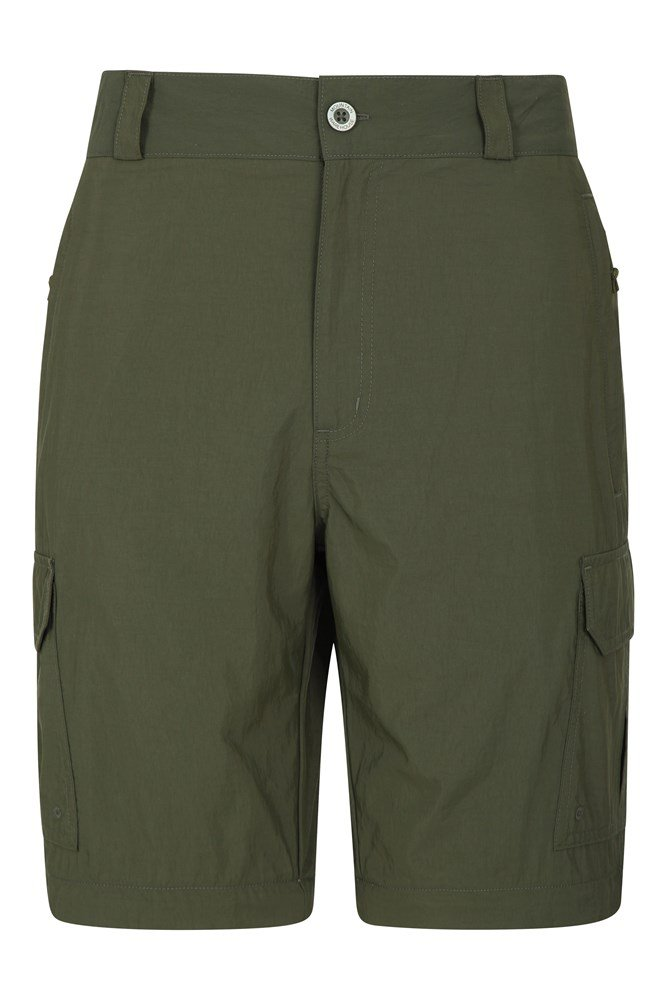 Explore Herren Shorts - Khaki von Mountain Warehouse