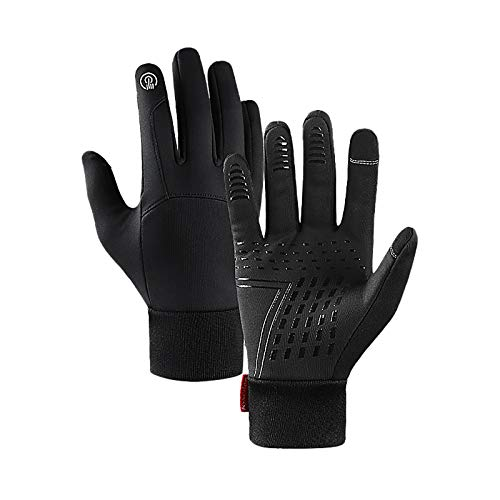 Eariy Warm Winter Gloves,Waterproof Touchscreen Gloves, Windproof Running Gloves,Non-Slip Abrasion Resistant Sports Gloves for Men or Women von N / A