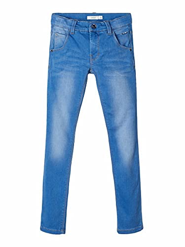 NAME IT Jungen Jeanshose NITCLAS XSL DNM Pant NMT NOOS, Blau (Medium Blue Denim), 110 von NAME IT
