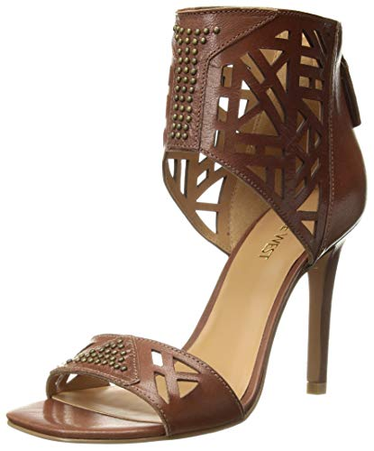 NINE WEST Damen Karabee, braunes Leder, 5,5 m von NINE WEST