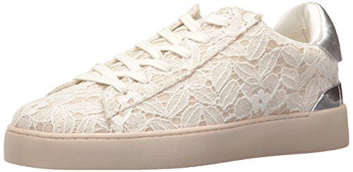 NINE WEST Damen-Sneaker Palyla, Stoff, (Ivory/Silver), 37.5 EU von NINE WEST