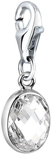 712709-019 Nenalina Charm Buchstabe I Anh/änger in 925 Sterling Silber f/ür alle g/ängigen Charmtr/äger