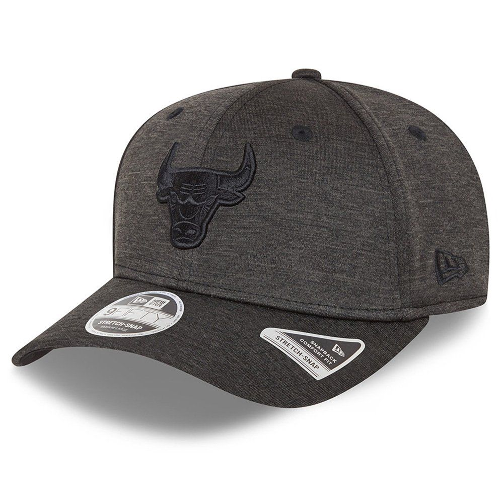 New Era 9Fifty Stretch-Snap Cap - SHADOW Chicago Bulls von New Era