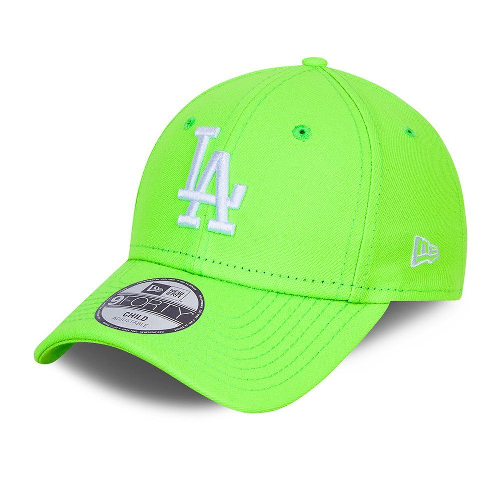 New Era 9Forty Kinder Cap - Los Angeles Dodgers lime green von New Era
