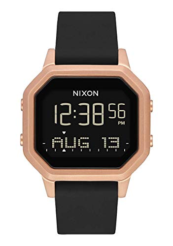 Nixon Damen Digital Smart Watch Armbanduhr mit Silikon Armband A1211-1098-00 von Nixon