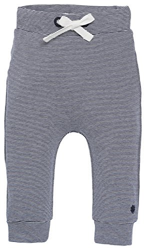 Noppies Baby - Jungen Hose B Pants Jersey Loose Yip, Gestreift, Gr. 50, Blau (Navy C166) von Noppies