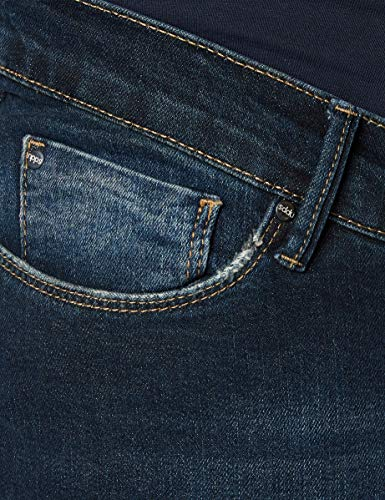 """Noppies Damen Straight Leg Umstands Jeans OTB comf Lois PLUS, Gr. 46 (Herstellergröße: 34), Blau (Stone Wash C295)"" von Noppies"