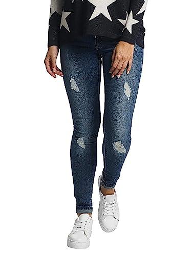 ONLY Damen Skinny Jeans onlCORAL Superlow SK BJ10221 NOOS, Blau (Medium  Blue Denim) 66c2b77889