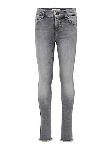 ONLY Girl Skinny Fit Jeans Blush 152Grey Denim von ONLY