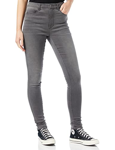 ONLY Damen Onlroyal High Dnm Bj312 Noos Skinny Jeans, Grau (Dark Grey Denim), XL 34L EU von ONLY