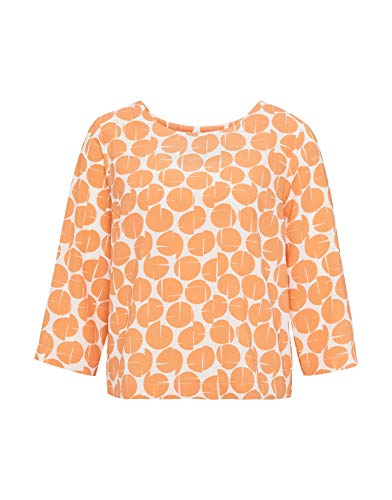 OPUS Damen Bluse Falesha 3/4 Arm orange (33) 44 von OPUS