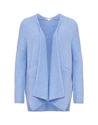 OPUS Damen Strickjacke Blue (82) L von OPUS
