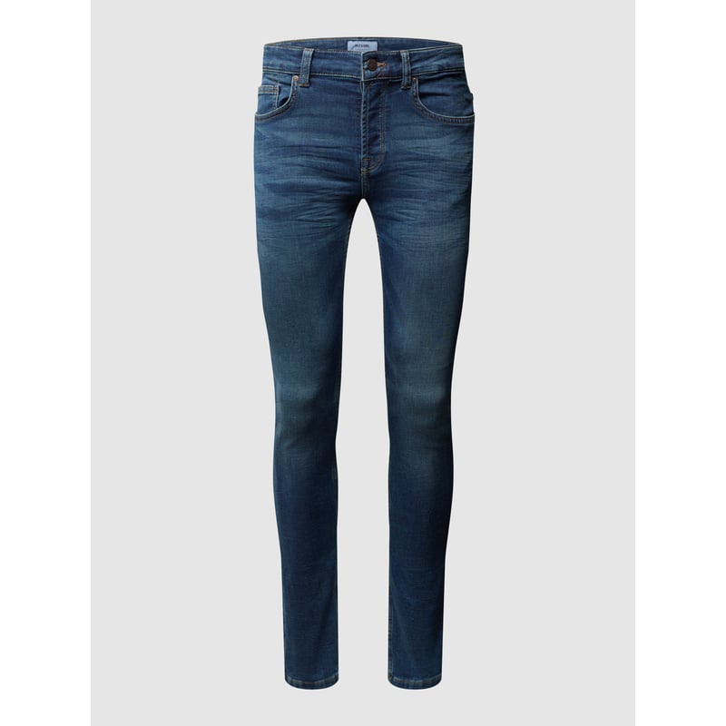 Stone Washed Slim Fit Jeans von Only & Sons