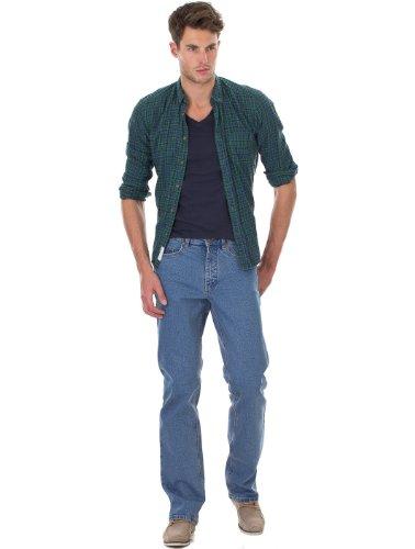 PADDOCKS RANGER Herren Five Pocket Denim Jeans Slim Fit stonewashed 4643