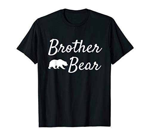 Brother Bear Shirt - Christmas Papa Bear Mama Bear Baby Bear T-Shirt von Papa Bear Mama Bear Tshirt Family Matching Shirt