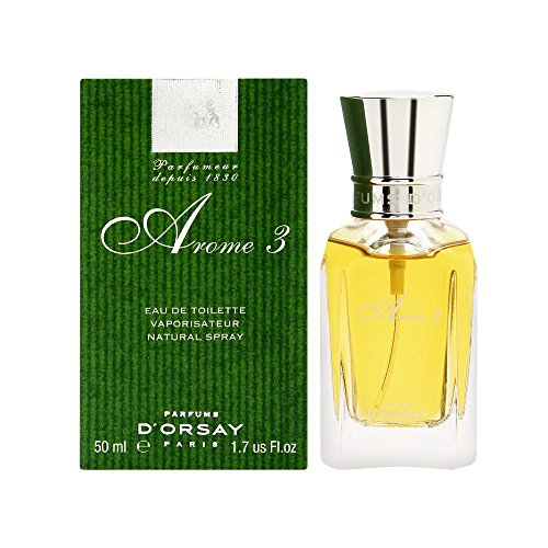 Arome 3 Eau de Toilette 50 ml Vaporisateur Natural Spray von D´ORSAY
